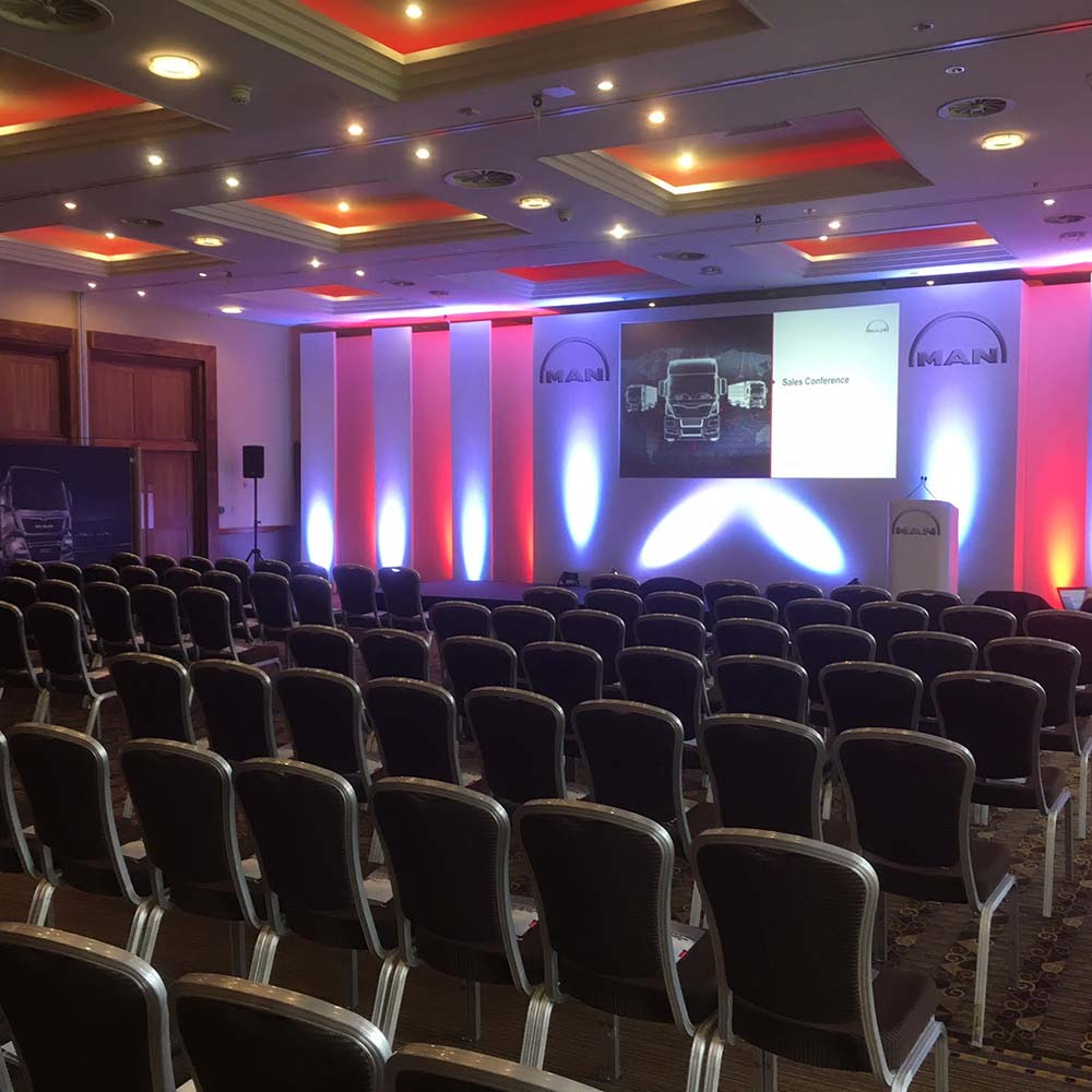 MAN Truck & Bus UK Sales Conference - Venues and Events International